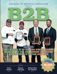 Helena Chamber B2B Magazine Cover
